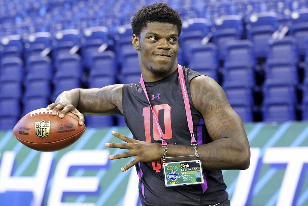 Lamar Jackson NFL Draft Combine