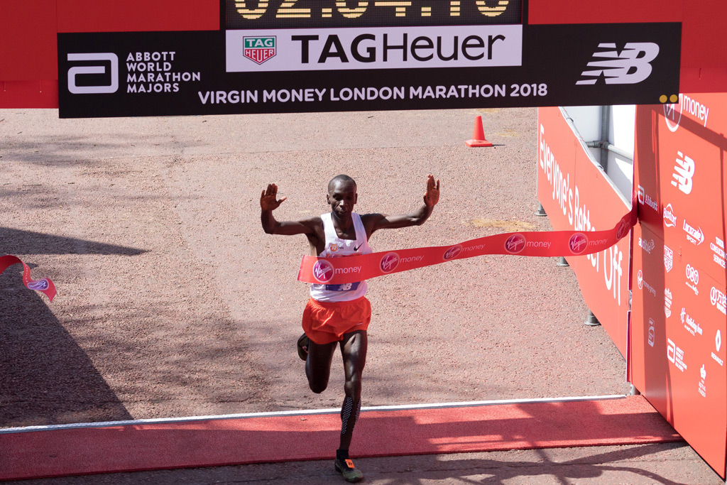 Eliud Kipchoge, london marathon 2018