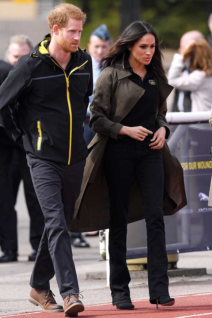 Meghan Markle and Prince Harry in Bath.