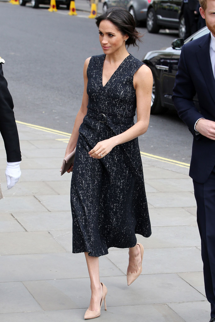 Meghan Markle, hugo boss dress