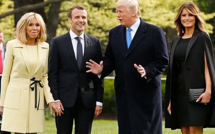 Melania Trump, state dinner, brigitte macron