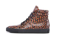 A logo sneaker from the Missoni