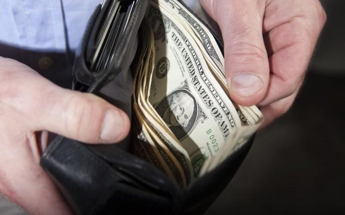 Wallet, money