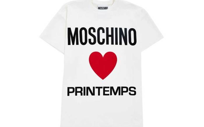 Moschino x Printemps T-shirt