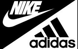 Nike Adidas logo