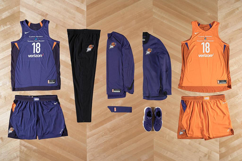 nike, wnba uniforms, 2018