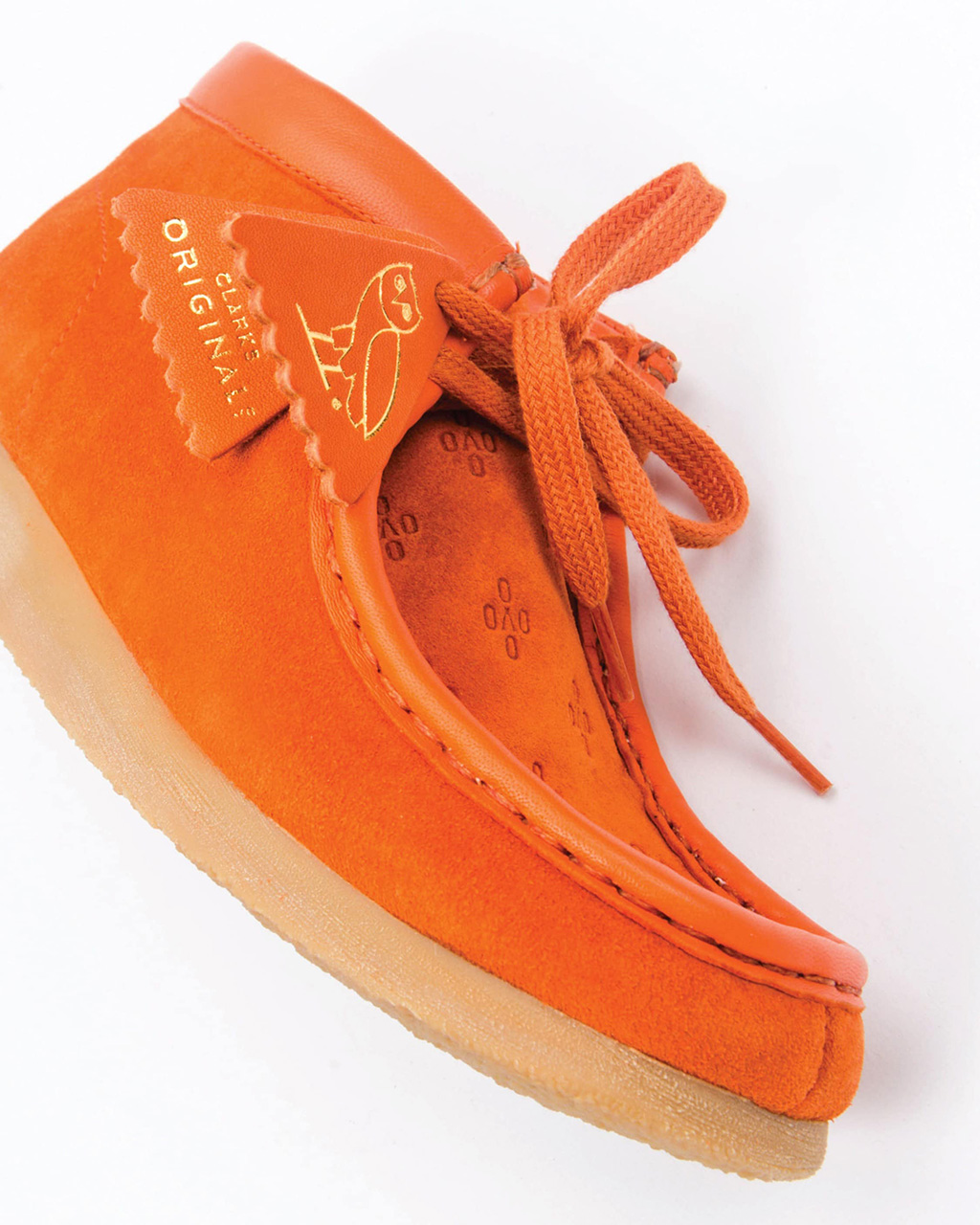 OVO x Clarks Wallabe Made in Italy Collection Orange