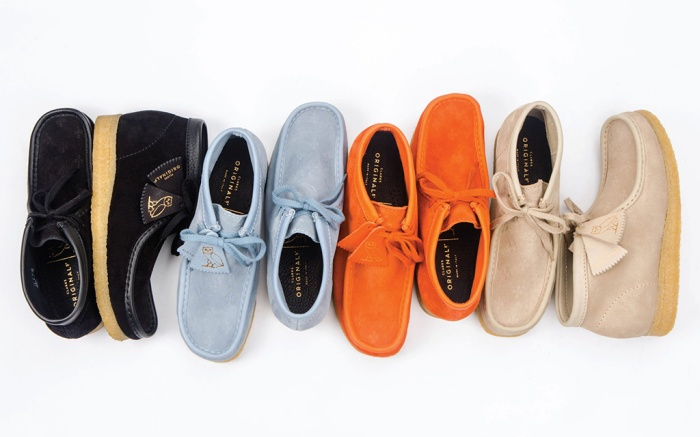 OVO x Clarks Wallabe Made in Italy Collection