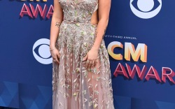Strappy Sandals at the ACM Awards