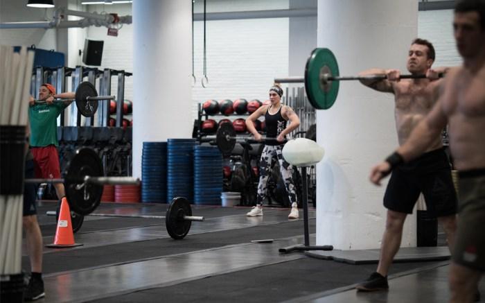 Reebok Boston Headquarters Gym