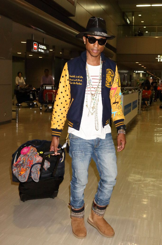 pharrell williams, uggs