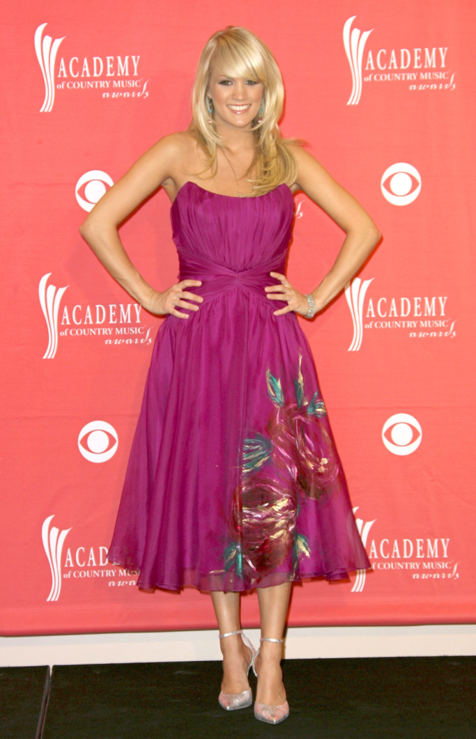 carrie underwood, academy of country music awards 2008