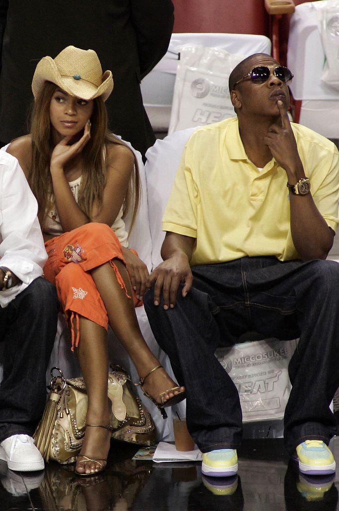 beyonce, jay-z, air force 1 easter 2006