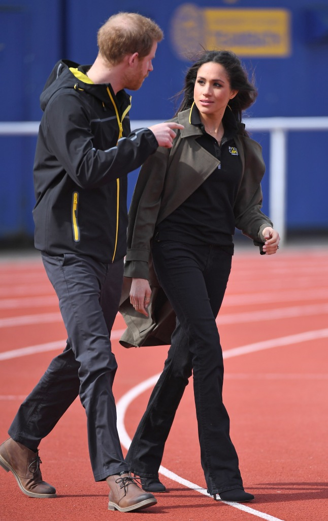 Prince Harry and Meghan MarkleUK Team Trials for the Invictus Games, Bath University, UK - 06 Apr 2018Prince Harry, Patron of the Invictus Games Foundation, and Meghan Markle attended the UK team trials for the Invictus Games Sydney 2018 at the University of Bath Sports Training Village.The Invictus Games is the only international sport event for wounded, injured and sick (WIS) servicemen and women, both serving and veteran. The Games use the power of sport to inspire recovery, support rehabilitation and generate a wider understanding and respect of all those who serve their country. Sydney is the fourth city to host the Invictus Games, after London in 2014, Orlando in 2016, and Toronto in 2017. The Invictus Games Sydney 2018 will take place from 20-27th October and will see over 500 competitors from 18 nations compete in 11 adaptive sports