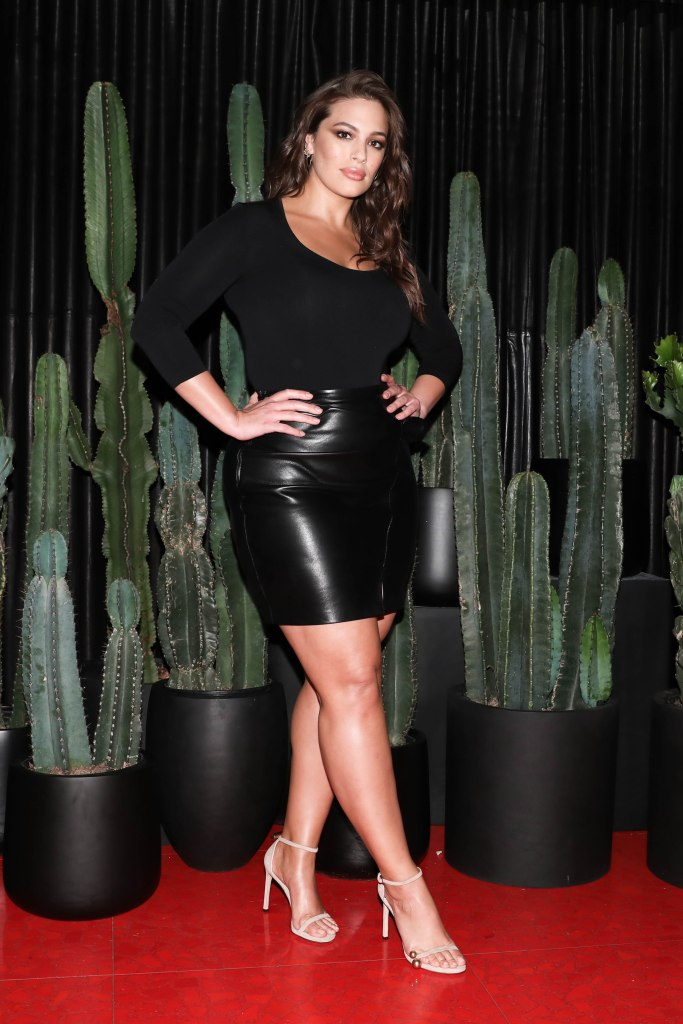 Ashley Graham at 'Vogue's celebration of Giovanni Morelli's first collection for Stuart Weitzman.