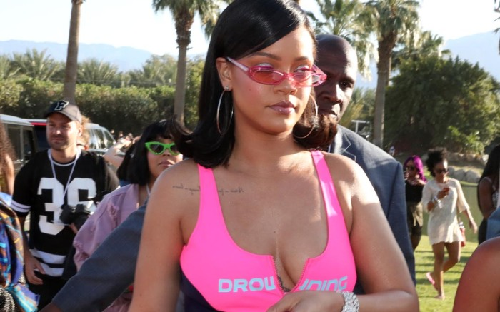 Rihanna, fenty, puma, coachella