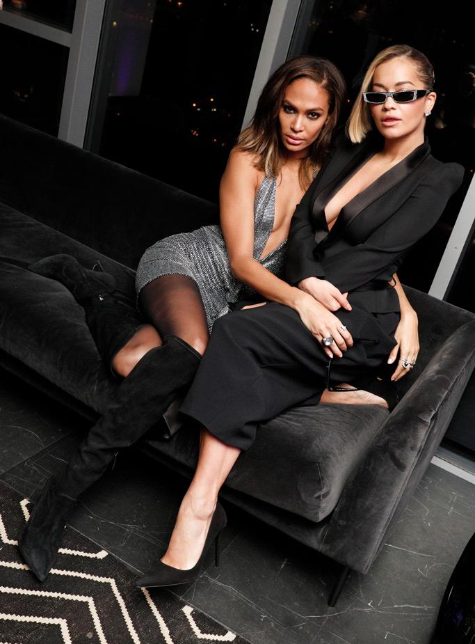 the Alain Mikli x Alexandre Vauthier Launch Party, Joan Smalls, Rita Ora