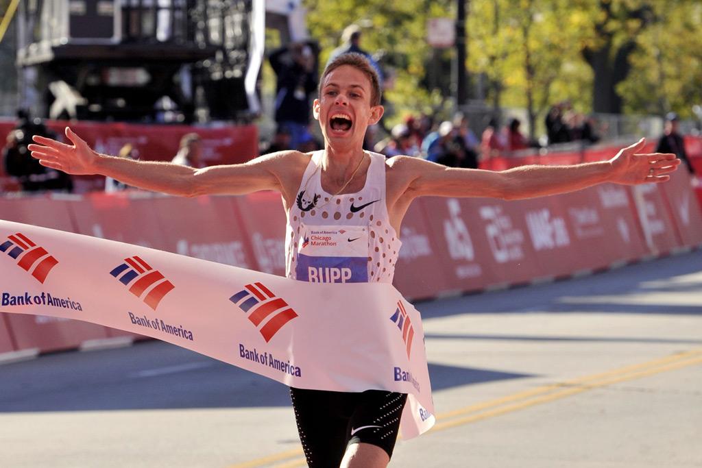 galen rupp, chicago marathon