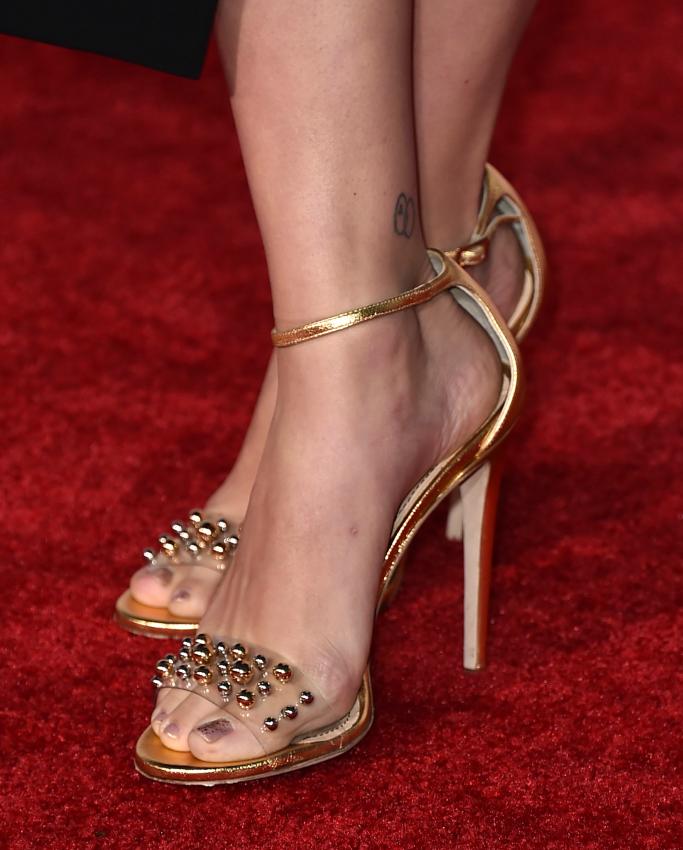Jerome C. Rousseau Leroy Metal Ball Detail Sandals, scarlett johansson