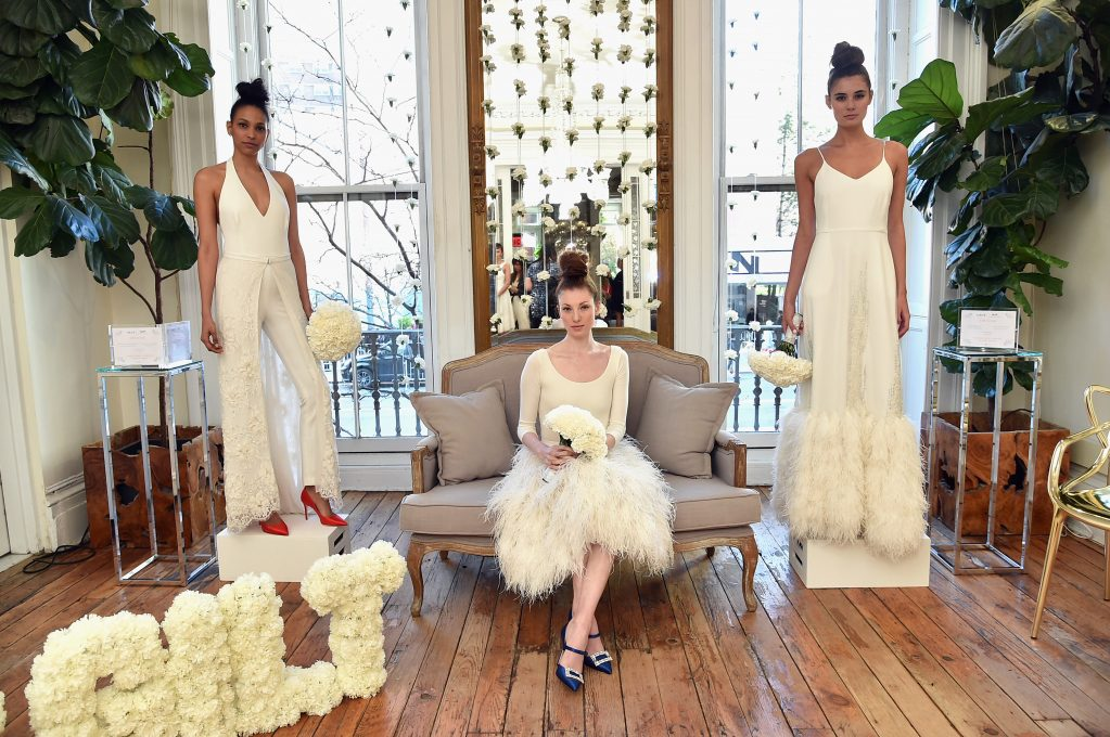 NEW YORK, NY - APRIL 23: Gilt and Sarah Jessica Parker celebrate an exclusive bridal collection at Serge Normant Salon on April 23, 2018 in New York City. (Photo by Mike Coppola/Getty Images for Gilt.com)