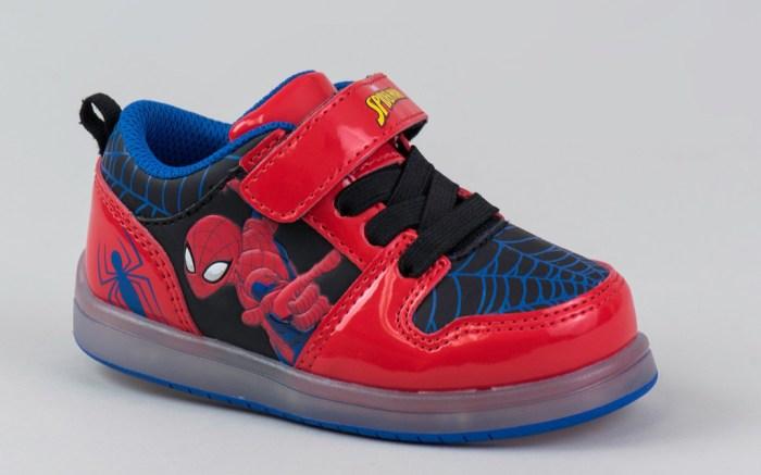 spider-man, target, shoes