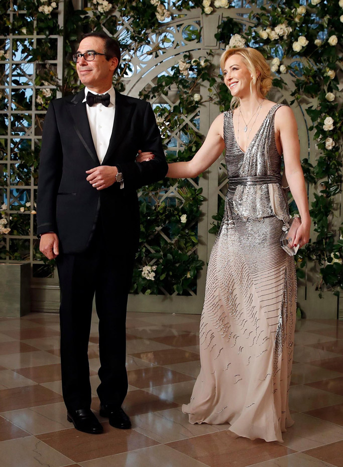 louise linton, state dinner