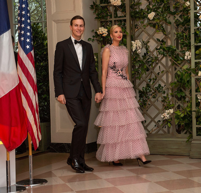 Ivanka Trump, state dinner, rodarte dress