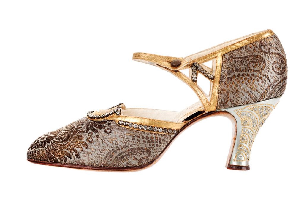D'orsay evening shoes, vintage