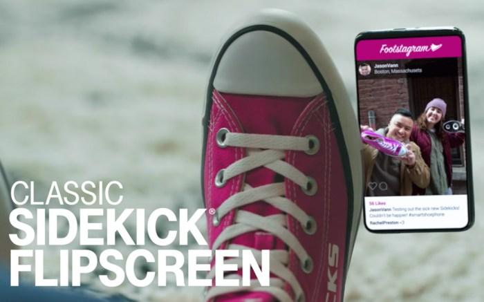 """T-Mobile Sidekick """"Smartshoephone."""""""