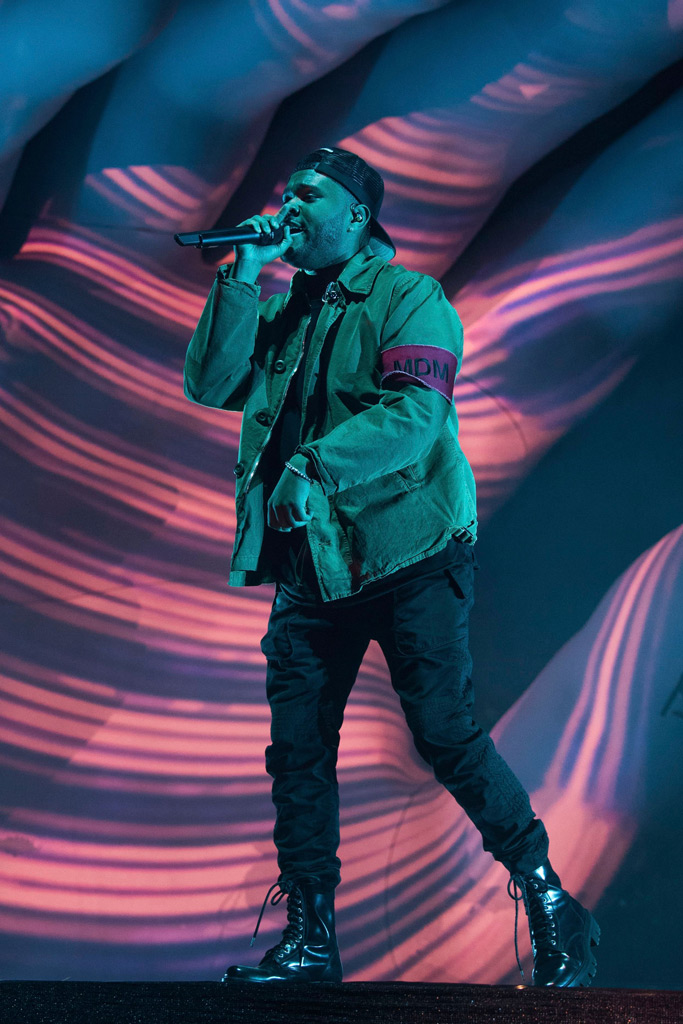 the weeknd, coachella day 1
