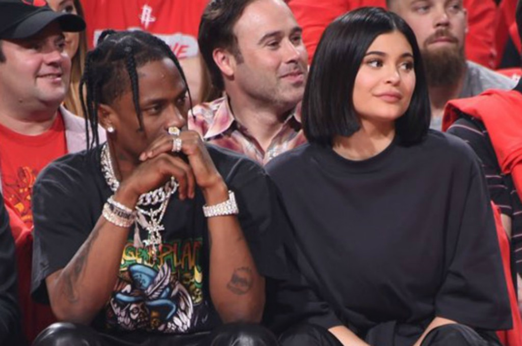 travis scott, kylie jenner