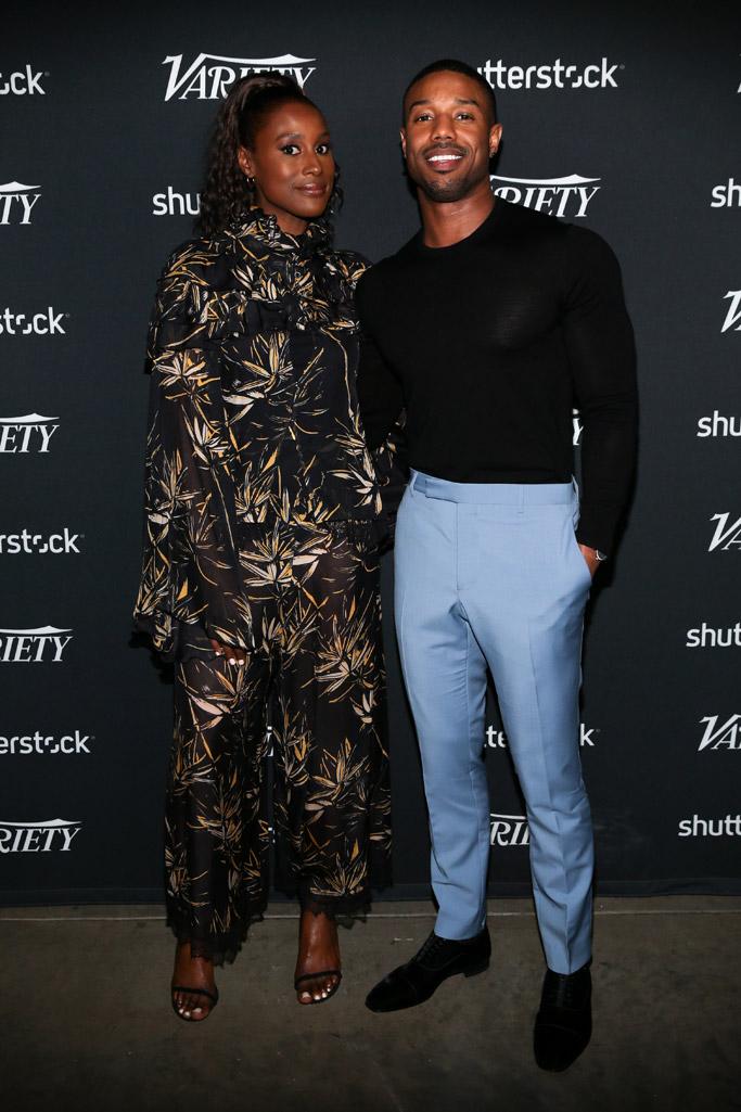Issa Rae and Michael B. Jordan, variety actors on actors