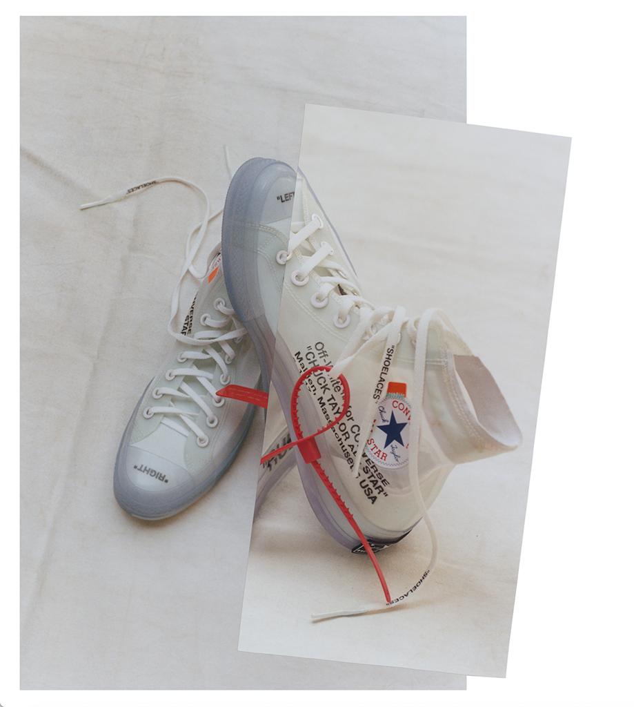 Virgil Abloh Converse Chuck 70 Nike The Ten
