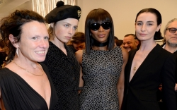 Katie Grand, Edie Campbell, Naomi Campbell