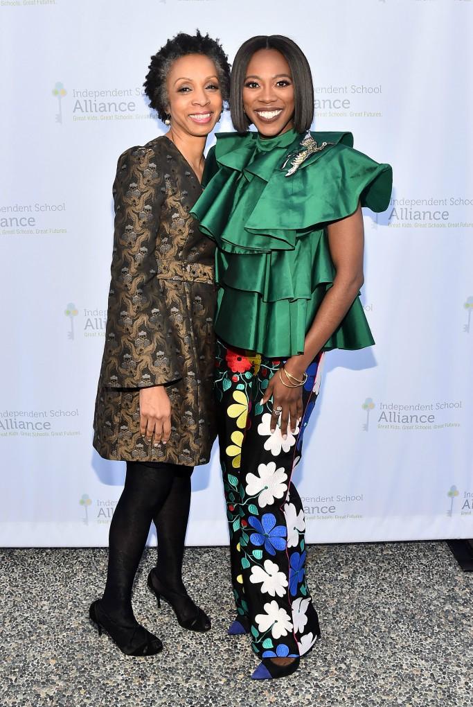 nina shaw, Yvonne Orji, independent School Alliance Awards