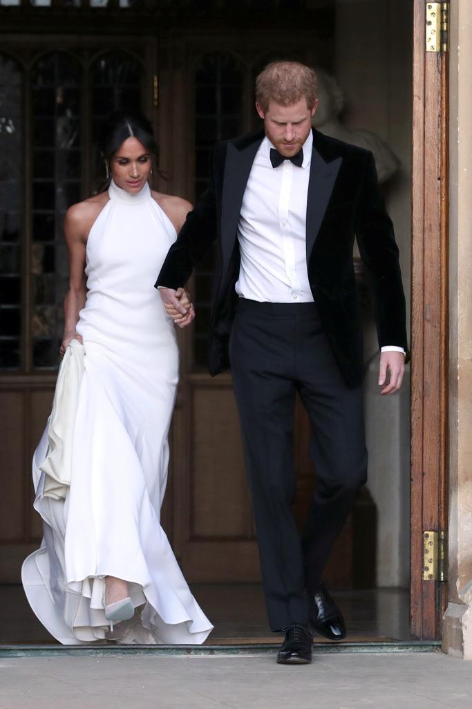 meghan markle, wedding dress, stella mccartney, prince harry