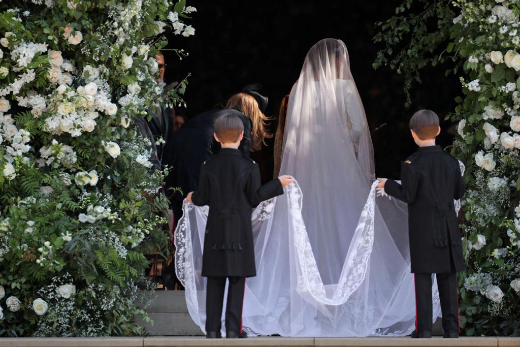 Megan Markle's veil