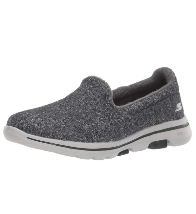 Skechers Women's Go Walk 5-Wash-a-Wool Sneaker