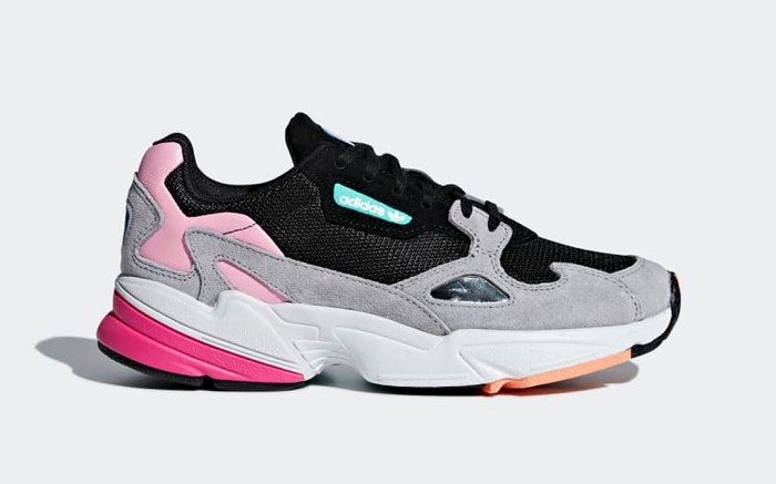 Adidas Falcon W Grey Black Pink