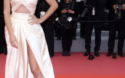Celebrities in Thigh-High Slits at Cannes