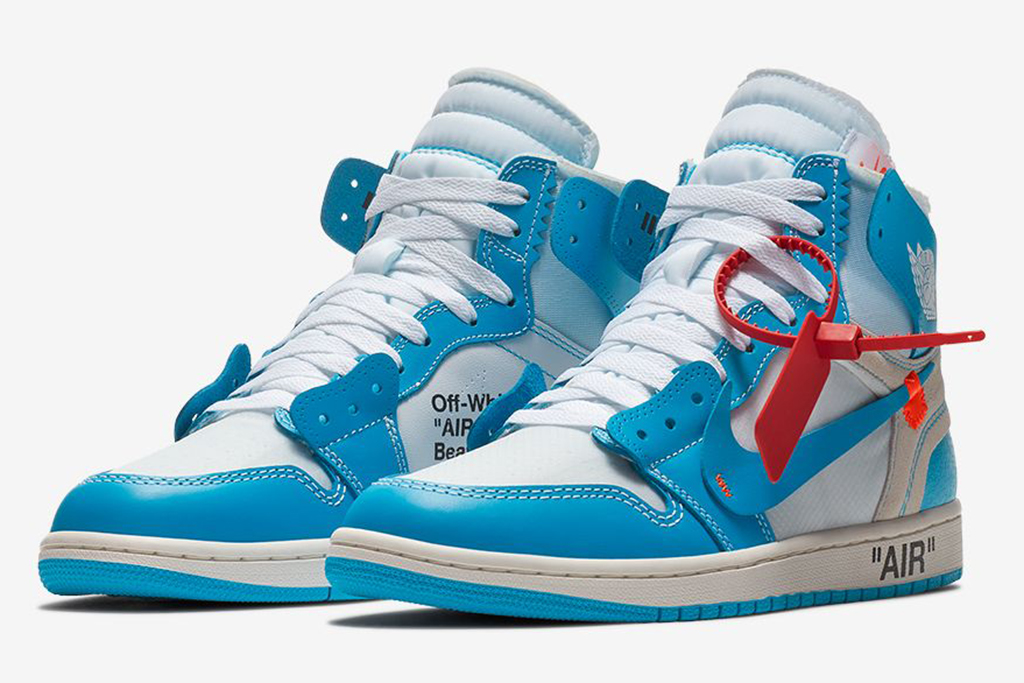 Off-White x Air Jordan 1 'UNC