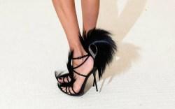 Anja Rubik Met Gala shoes