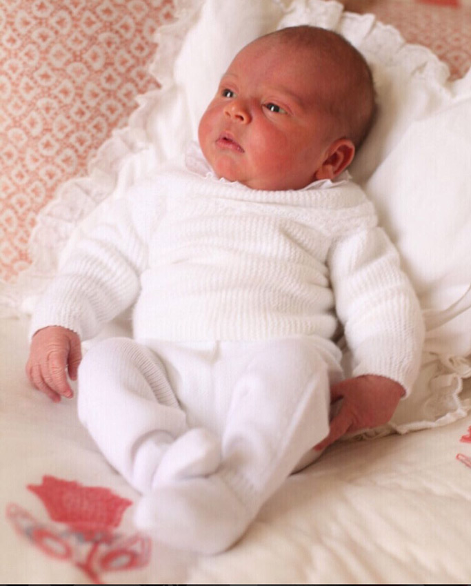 prince louis, newborn royal baby, kate middleton, prince william