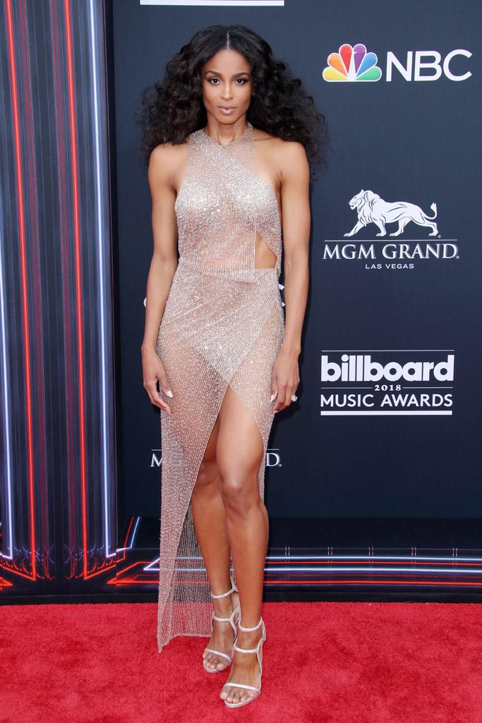 ciara, billboard music awards 2018, red carpet