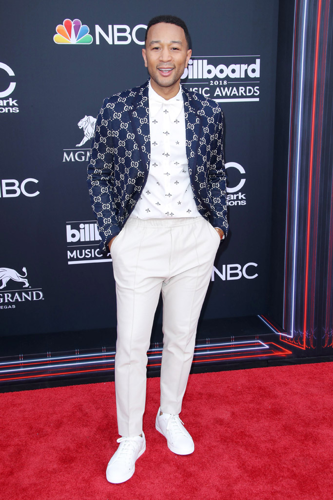 John Legend, billboard music awards 2018, red carpet