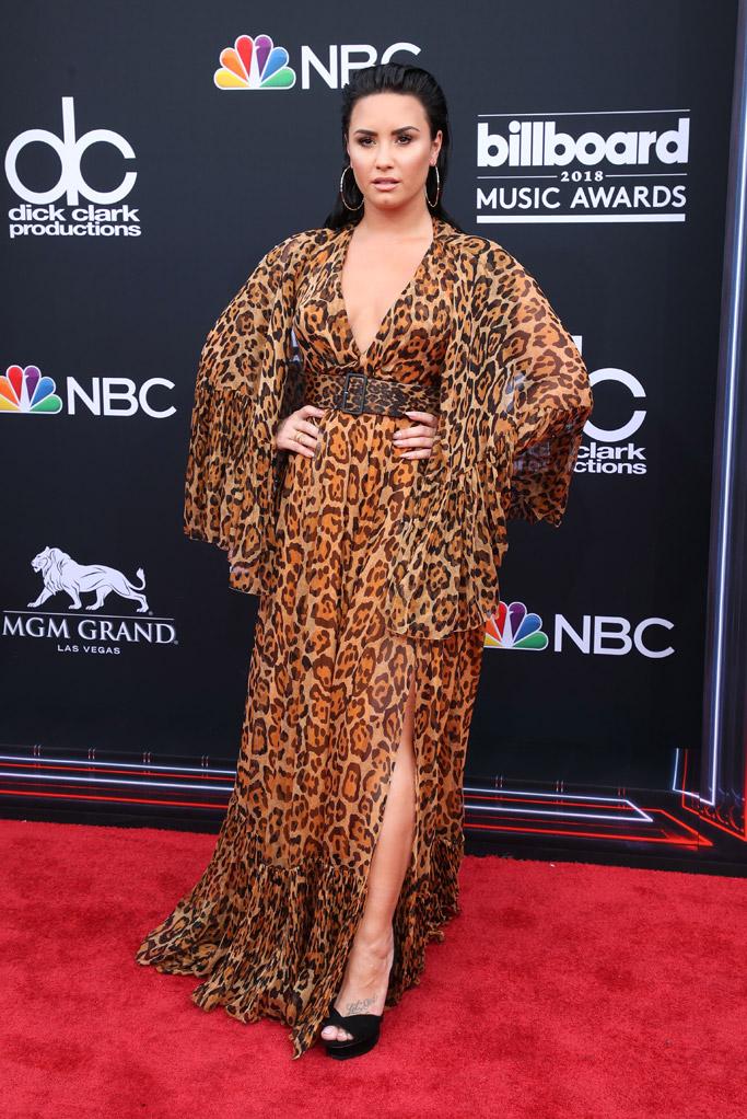 Demi Lovato, billboard music awards 2018, red carpet, dior