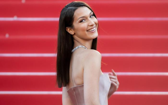 bella hadid, cannes film festival, red carpet, style