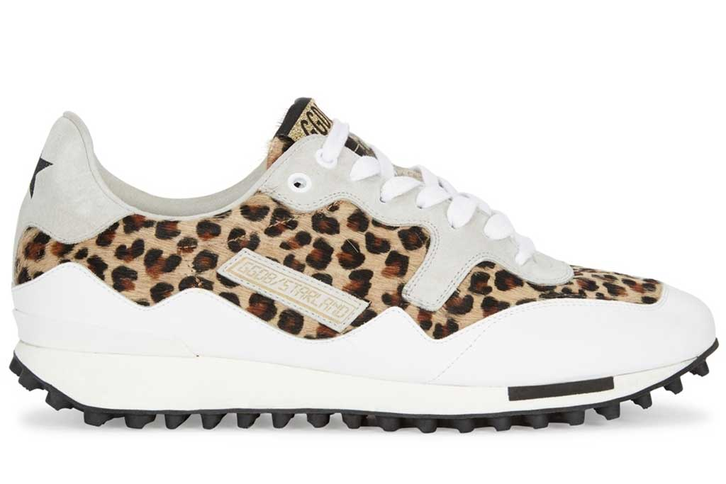 Golden Goose leopard sneakers