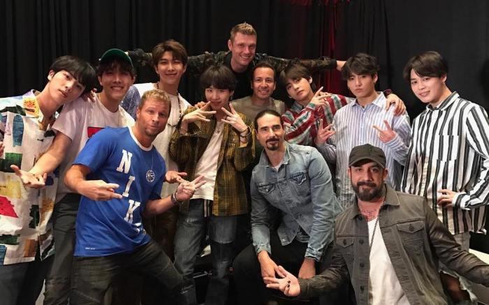 BTS, Backstreet Boys