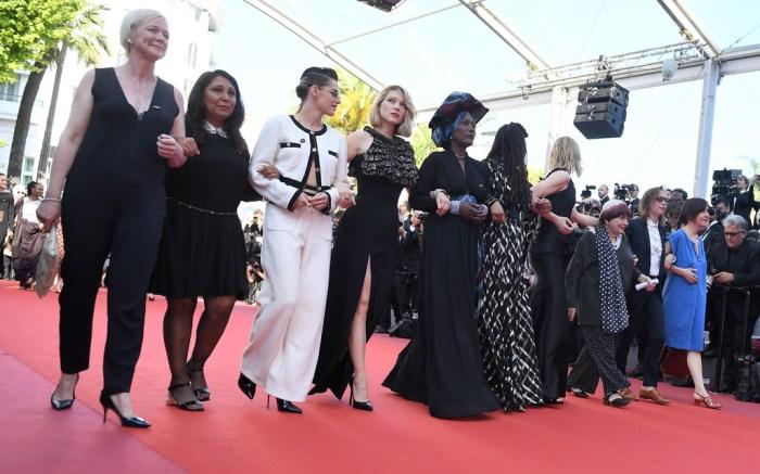 cannes film festival, gender gap, women, protest